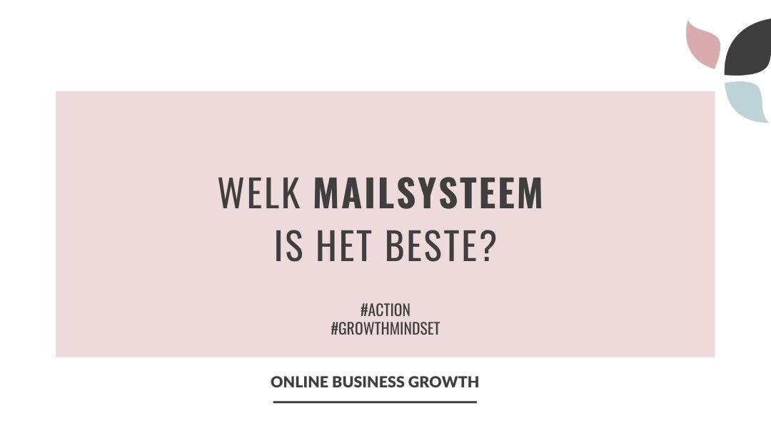 Online Business Growth_welk mailsysteem is het beste